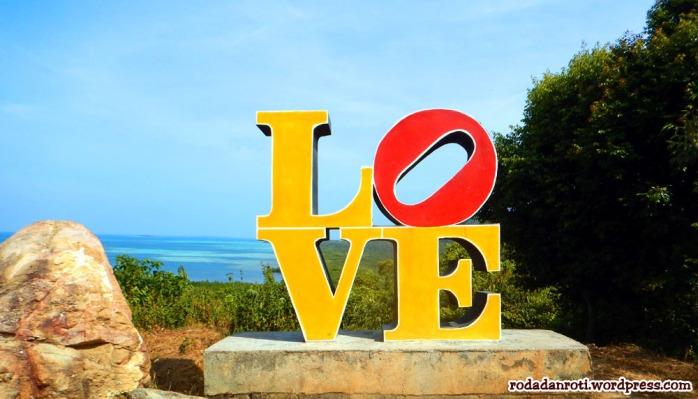 Foto Bukit LOVE ini diambil pada hari terakhir