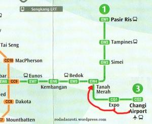 Peta MRT Singapore 2