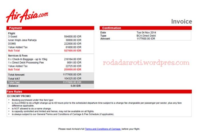 airasia promo tiket