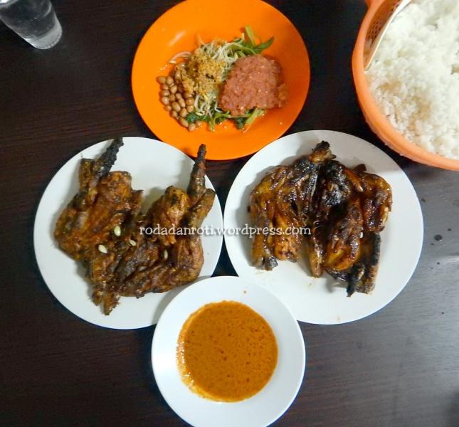 Ayam Taliwang irama cakranegara lombok