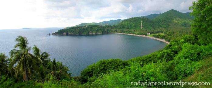 Panorama Bukit malimbu wp