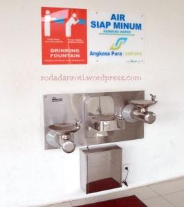 water tap di juanda airport surabaya