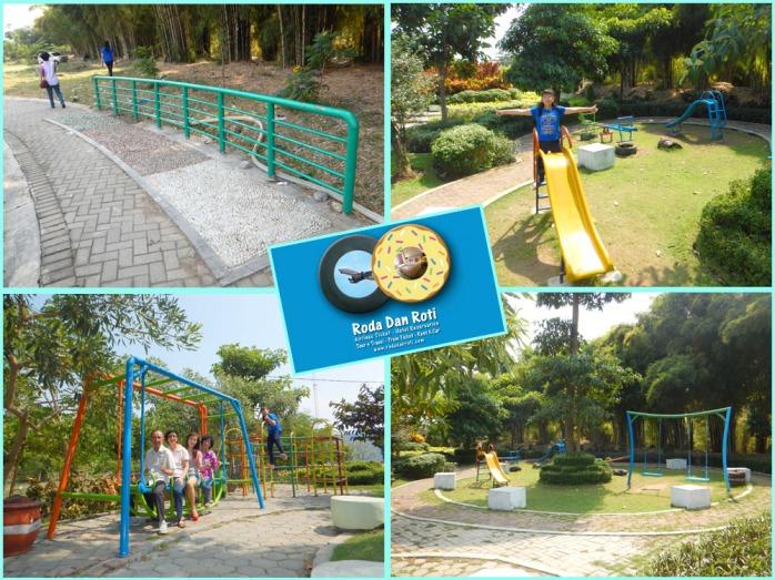 fasilitas Taman sakura sukolilo surabaya