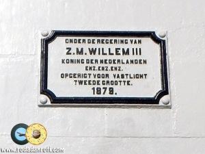 papan nama mercusuar willem III