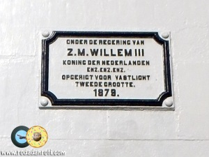 papan nama mercusuar willem III