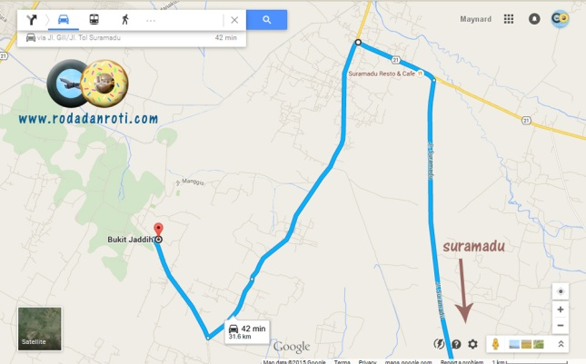 peta ke gua pote bukit jaddih bangkalan madura