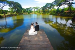 Prewedding di kebun bibit wonorejo