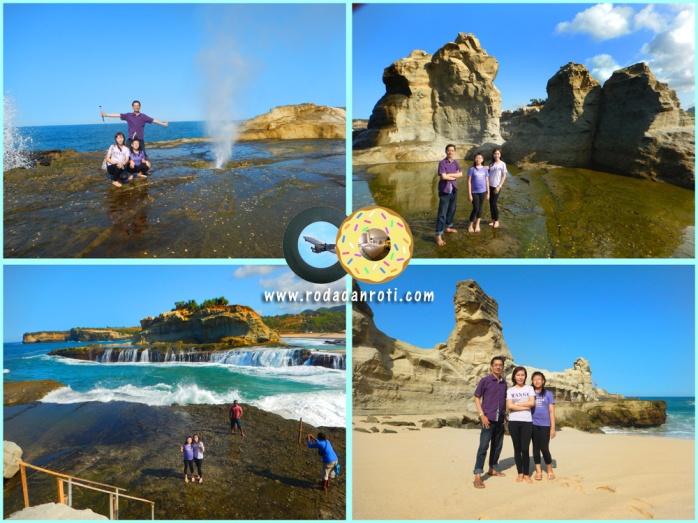 Pantai Klayar batu sphinx