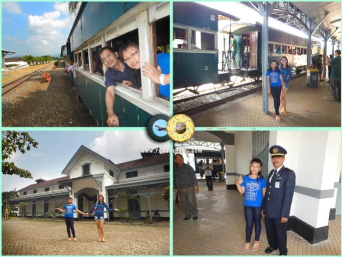 Stasiun Tuntang Museum Kereta api Ambarawa