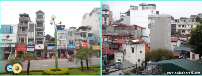 rumah tinggi kurus di vietnam