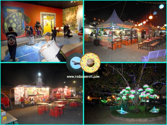 pasar parkiran wisata batu malam hari wisata kuliner