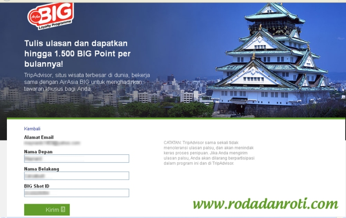 trip advisur dan air asia