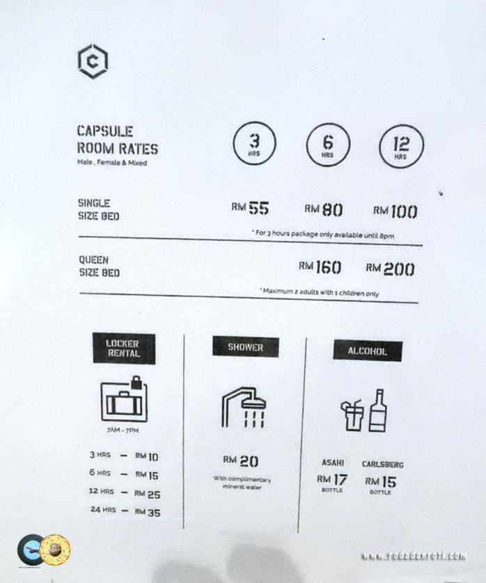 harga go show capsule by caontainer hotel klia2