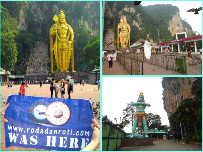 batu cave kuala lumpur malaysia tempat orang india berdoa