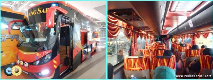 Bus Mayangsari KL Melaka