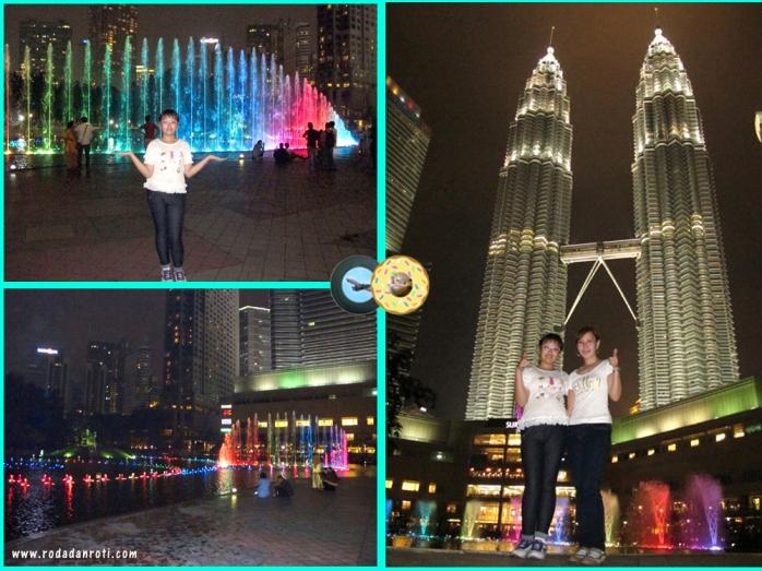 KLCC suria air mancur menari twin tower petronas malaysia