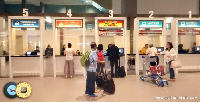 Loket Counter penjualan tiket bus Ke KL Sentral