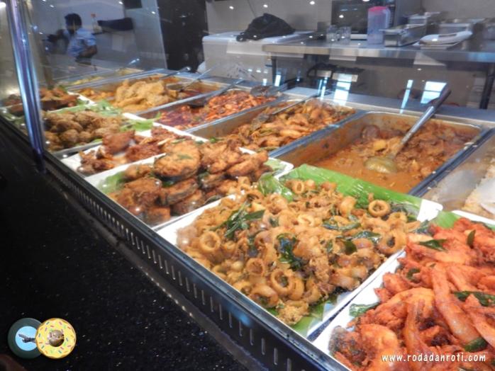 menu makanan di nz cury house