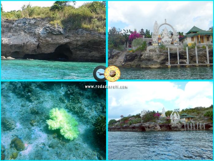 Bat Cave pura ganesha dan coral garden pulau menjangan