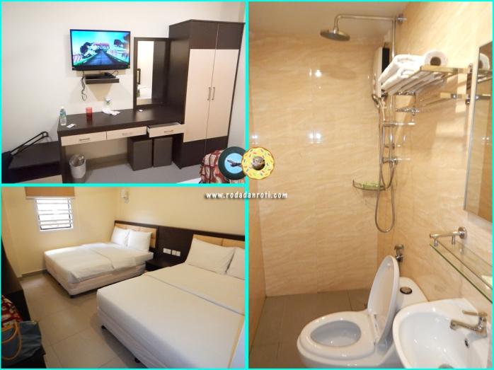 hotel hong melaka room kamar