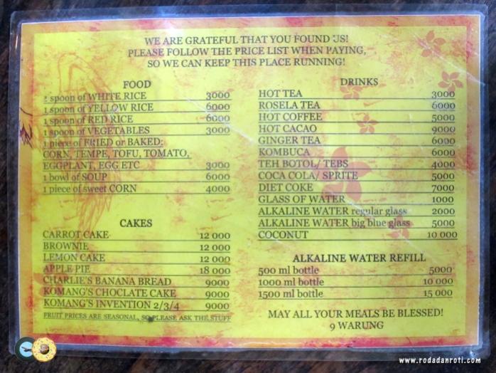 daftar-menu-warung-9-lod-tunduh-bali