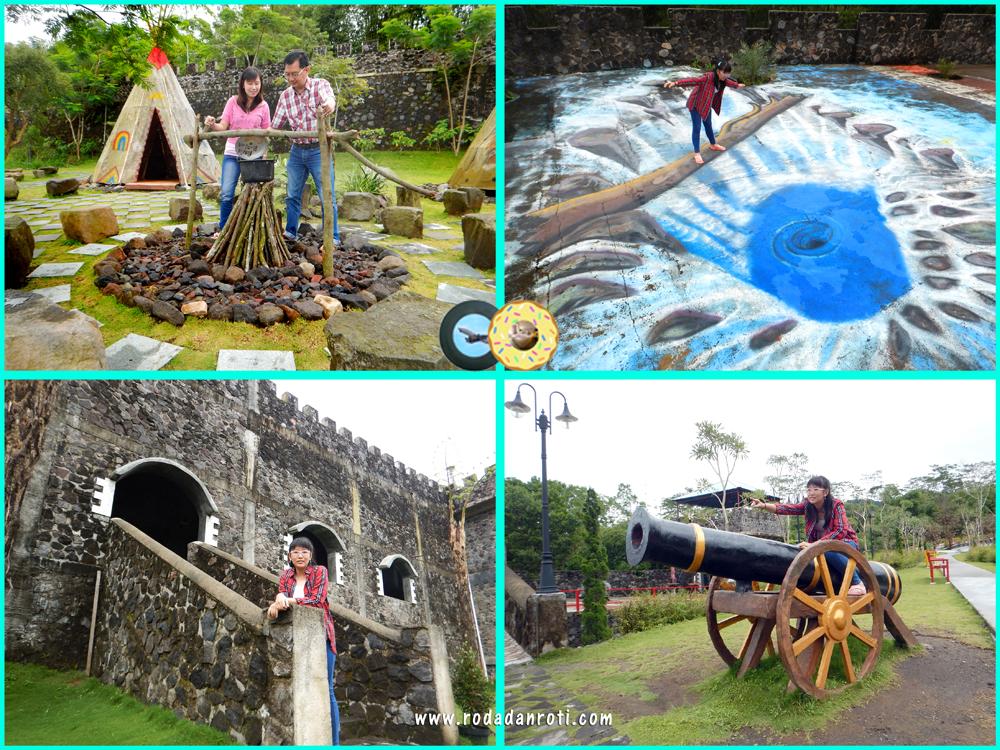 The Lost World Castle Yogyakarta Roda Dan Roti